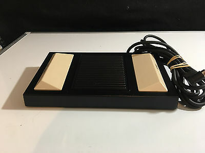 Panasonic Model Rp-2692 Transcriber Dictaphone Foot Pedal For Rr-830 & Rr-930