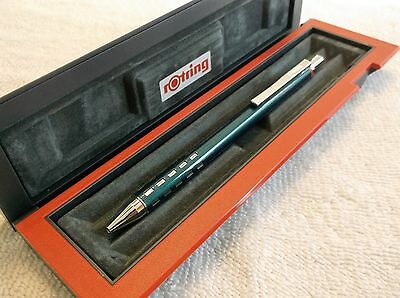 Rotring Jazz Bavaria Green Capless Rollerball Pen New In Box