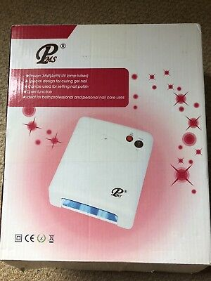 PMS 36Watt UV Lamp Light Curing Unit Nail Gel Nail Dryer ng881 B