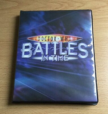 Dr Who Battles In Time: Collection of Exterminator Cards in Binder (USED)