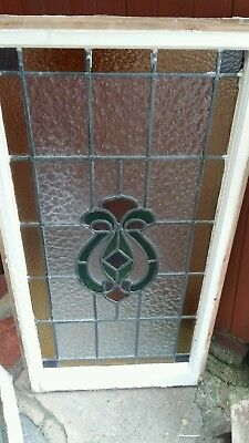 5 stain glass leaded windows