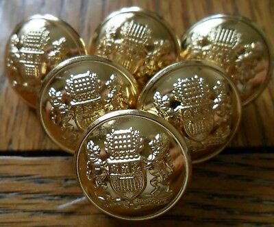6 x Westminster Dragoons Buttons