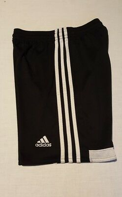 adidas climacool athletic shorts black/white Youth Medium 8-10 pre-owned