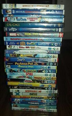 Job lot of kids dvds 28 in total