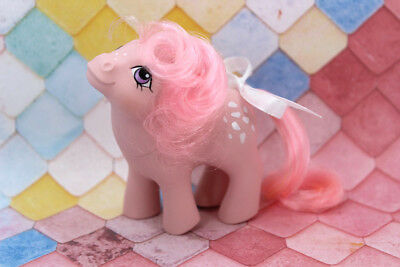 💕 Vintage G1 80's My Little Pony 💕 - BABY COTTON CANDY w/Original Pink Curls!