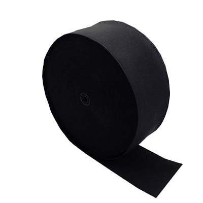 38mm / 1.5 inch Wide Flat Black/White Strong Woven Elastic Sewing Dressmaking