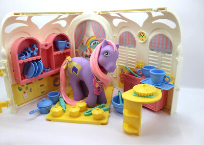 💕 Vintage G1 80's My Little Pony 💕 - Euro Cooker Kitchen House Set Nr Complete