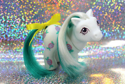 💕 Vintage G1 80's My Little Pony 💕 - Rare Euro REVERSE BABY CANDY - HTF!