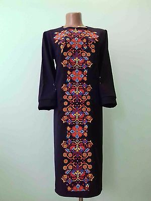 Ukrainian embroidery, embroidered dress,any color, XS-4XL, Ukraine