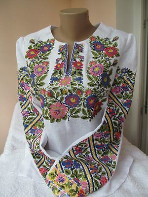 Ukrainian embroidery, embroidered blouse, XS - 3XL, Ukraine