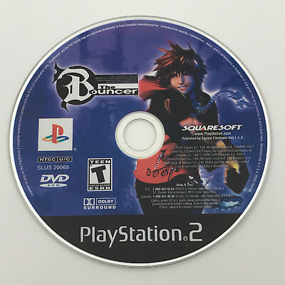 The Bouncer (Sony PlayStation 2, PS2) *GAME DISC ONLY - TESTED - SHIPS FAST*