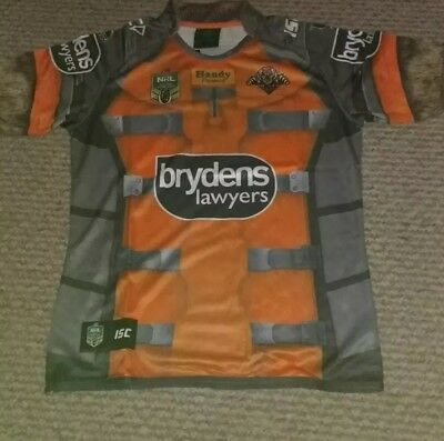 Nrl Wests Tigers Rocket Raccoon Jersey 2017 Limited Edition S/s. Bnwt.