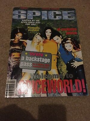 Spice Girls Official Magazine Issue 4