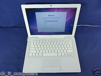 "Apple MacBook WHITE 13"" 2.4GHz /NEW 1TB / 4GB /CAM Good Condition NEW Battery"