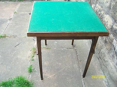 Old Wooden card table