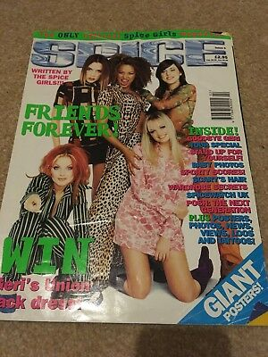 Spice Girls Official Magazine Issue 6 And giant poster