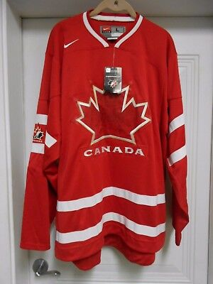 Nike 2010 Olympic Team Canada Hockey Jersey - Size Adult Large - New With Tags
