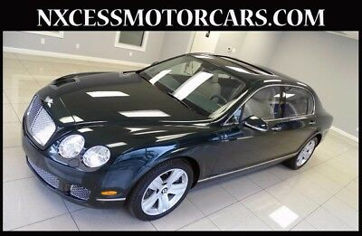 2010 Bentley Continental Flying Spur Flying Spur Sedan 4-Door JUST 9.4K MILES 1-OWNER.