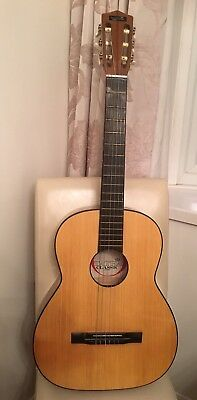 Tatra Classical Guitar With Case Excellent Condition