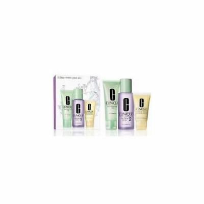 Clinique 3 Steps Intro Skin Type Ii Set 3 Piezas