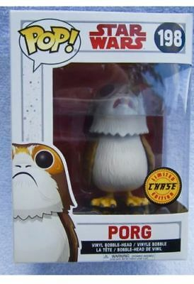 IN HAND Funko POP! Star Wars The Last Jedi PORG CHASE Limited Variant #198