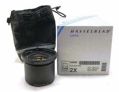 Hasselblad Converter 2XE with case boxed 20605 MINT-