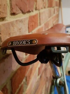 Brooks B17 Standard (honey) saddle in immaculate condition