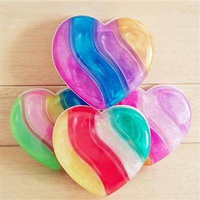 Colorful Glitter Crystal Jelly Slime Plasticine Non-toxic Stress Toy Kids Gift