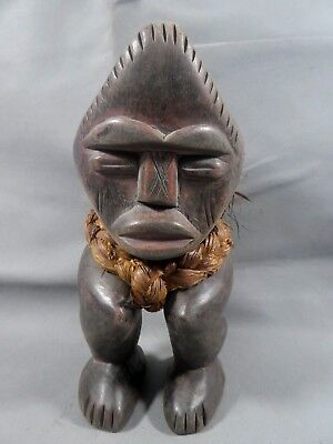 Old Tribal Zainde Figure Congo Fes-Gb 438