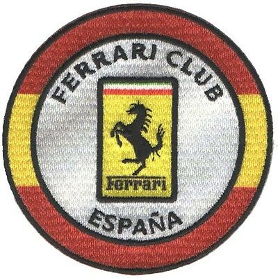 PARCHE bordado en tela F. CLUB ESPAÑA, EMBROIDERED PATCH