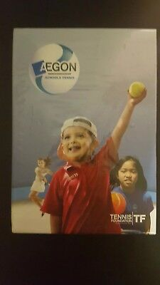 AEGON Schools Tennis DVD Boxset - New and Sealed - Free UK delivery
