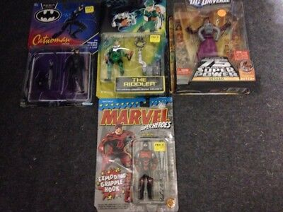 mixed lot of marvel /batman /dc universe action figures