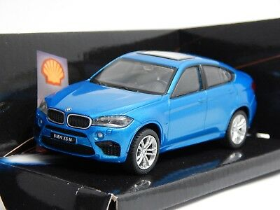 2015 BMW X6 M M50D Long Beach Blue F16 1:43 CMC Toy 2017