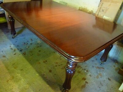 Solid Mahogany Dining Table (Seats 10 People)