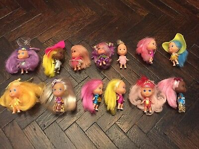 VINTAGE Lot LIDDLE KIDDLES & KOLOGNE DOLLS Lot of 13