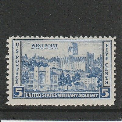 Usa - 1936 - West Point Military Academy - (1V) - Mint Hinged