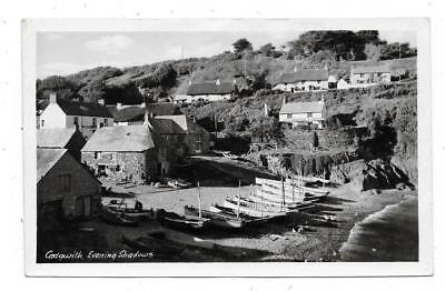 Superb Real Photographic Postcard Cadgwith Village Cornwall