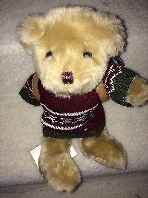 """8"""" Henry The Hiker Bear From The Teddy Bear Collection."""