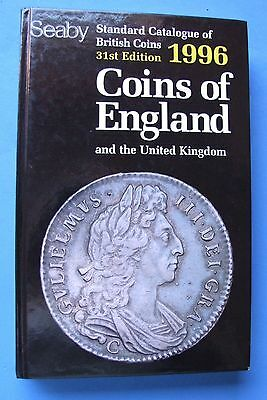 Seaby Standard Catalogue of British Coins 1996 - HARDBACK - EXCELLENT CONDITION