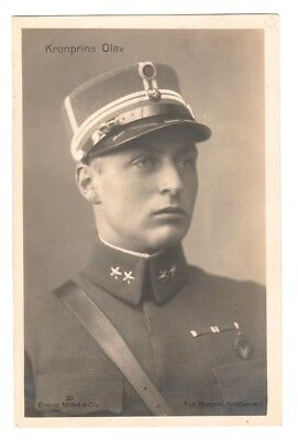 Rare Royalty Postcard. The Prince Olaf of Norway