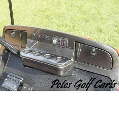 Golf Cart Dash Carbon Fiber Ezgo TxT 1994 to 2013
