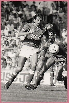 Graeme Sharp Press Photo 1986 Everton FC Football Press Photograph