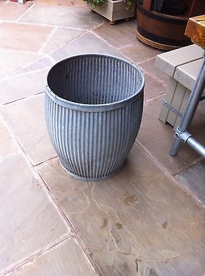 Galvanised Wash Tub ** Dolly Tub ** Planter ** Garden ** - COLLECTION ONLY