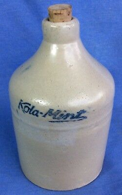 antique •KOLA-MINT• vintage Drugstore old Soda pop Fountain miniature •MINI JUG•