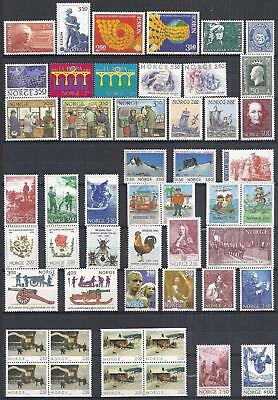 Norway - Nice Lot - Mint Never Hinged