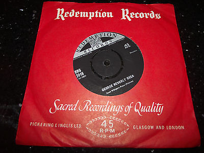 Ex++ George Beverly Shea Jesus Whispers Peace Uk 7 Inch 45 Rrs 2016 Hear