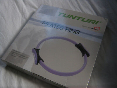 Pilates Ring 38cm diiameter Lilac Tunturii new in box not used