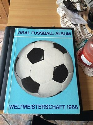 1966 Aral Fussball Album West Germany Complete