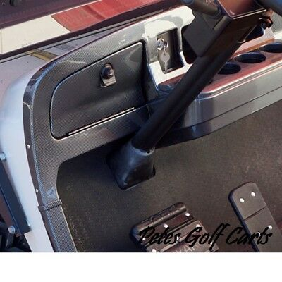Golf Cart Dash Carbon Fiber Ezgo TxT 2014 and Up