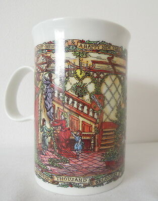 Dunoon Mug Christmas Party Pattern made in Scotland
